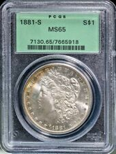 1881-S Morgan Silver Dollar - MS-65 PCGS NICE - Silver and Tone Free S/H #2841