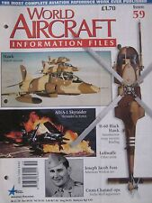 World Aircraft Information Files Issue 59 Sikorsky Black Hawk cutaway & poster