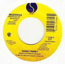 Madonna 45RPM Speed Music Records