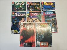 JNH LOT OF 8 VTG Comic Books DC Comics Batman Knightfall Shadow Box Dark Knight