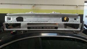 BMW E30 (1989-1991) Front Bumper Valance Bottom Vent Grill:  Metal Flat Black