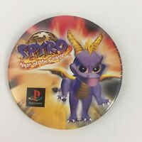 Spyro Year Of The Dragon Playstation Promo Pin Button Vintage 2000
