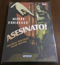 ASESINATO - MURDER - DVD MULTIZONA 1-6 - 92 MIN - HITCHCOCK - NEW SEALED NUEVO