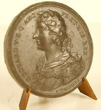Médaille Roi Edouard EDWARD V D .G .ANG .FR .ET .HIB. REX  sc Jean Dassier medal