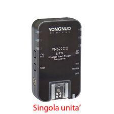 FLASH TRIGGER YN-622C II Yongnuo E-TTL CANON EX500 mk-580   1/8000s 6D 700D 100D