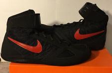 NEW Custom Nike Takedown 4 Black Red Wrestling Shoes Size 11.5