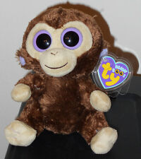 "Ty Beanie Boos ~ COCONUT the 6"" Monkey (2013 Gen Tags) ~ NEW with MINT TAGS"