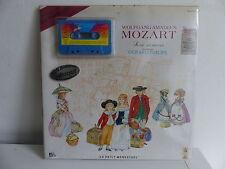 K7 audio MOZART Sa vie ses oeuvres GERARD PHILIPPE Avec livre encore emballé