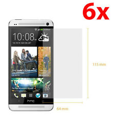 6X HD Clear LCD Screen Protector Cover Guard Film For HTC One M7