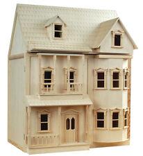 Victorian Dollshouse ASHBURTON Dolls House DH001 Inc Bay Fronts