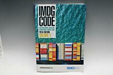 Imdg Code 2018, 39th Edition (English) *Volume 2 Only*