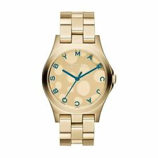 BRAND NEW LADIES MARC BY MARC JACOBS GOLD HENRY WATCH MBM3267