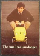 FORD ESCORT Car Sales Brochure 1968 DE LUXE Super GT