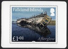 Falkland Islands: 2018 calendar cards with images of stamps on the front