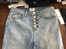 Hudson Jeans (Size 25 To Size 32) Highrise Ciara Style All Buttons Wow Size 31