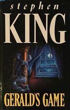 Geralds Game Stephen King Hardcover 1992 1st Edition UK Netflix Movie Flanagan
