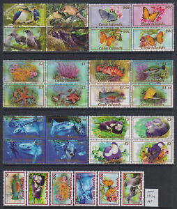 Cook 2007 Pacific Faune set of 30v. MNH** 74 Euro Scarce & Rare!