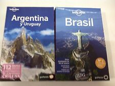 Guia Lonely Planet Argentina y Uruguay edición 2011+ Brasil 2014