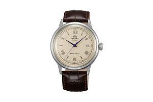 Orient Bambino Classic II Analog Automatik Uhr mit Leder Armband FAC00009N0