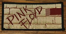 PINK FLOYD ORIGINAL VINTAGE 1980 EMBROIDERED WOVEN COLTH SEWING SEW ON PATCH