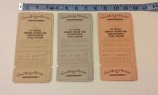 3 AMERICAN FREEDOM TRAIN TICKETS-AMTRAK TRANSCONTINENTAL STEAM BICENTENNIAL TIX