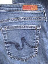 a4ed980bc71 AG Adriano Goldschmied The Angelina Petite Boot Cut Jeans Medium Wash Size  28R