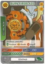 H 81 Burn Fireblaze - DeAGOSTINI Beyblade Battle Card Collection 2011 (6)
