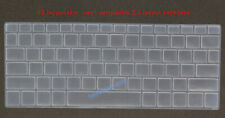 Keyboard Silicone Skin Cover Protector for Dell xps 13-9365 13-9370 13-9380