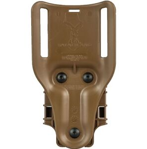 Safariland 6070UBL-76-MS22 Mid-Ride Tan Belt Loop QLS 22 UBL Holster Adapter