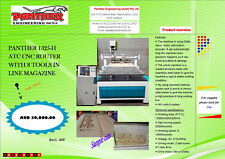 CNC Router Machine with Tool Changer