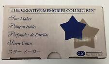 "Creative Memories Punch Mini Star Paper Maker Punch Card Making 1.25""/1.5"" NEW"