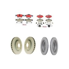 Mercedes Benz W211 E320 E350 Front and Rear Vented Brake Rotors Kit w/ Pads NEW