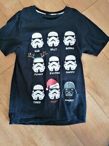 Star Wars X Small Xmas T-shirt Next