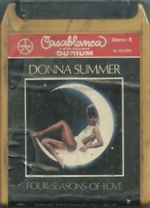 STEREO 8 TAPE DONNA SUMMER Four seasons of (Casablanca 76 ITALY) 8-track SEALED!