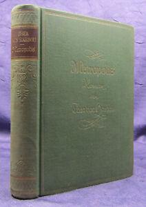 Thea von Harbou Metropolis 1926 Roman Belletristik Klassiker Weltliteratur sf