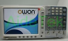 """OWON deep memory 100Mhz Oscilloscope SDS7102 1G/s large 8"""" LCD+battery FFT 20M"""