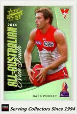 2015 Select AFL Honours S2 All Australia Team Card AA3 Nick Smith (Sydney)
