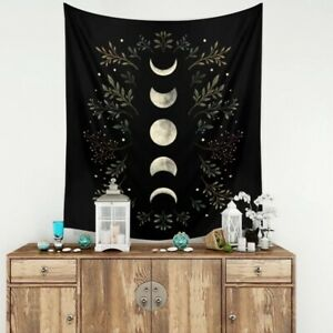 Bohemian Moon Phases Tapestry