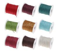70m/75Yards Cotton Cord Wire Beading Macrame String Jewelry DIY Thread 1mm