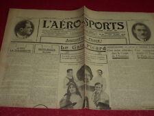 [Coll. Jean DOMARD SPORTS] L'AERO-SPORTS Auto Vélo Aviation Boxe etc. N°139 1923
