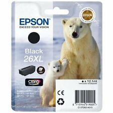 Genuine Epson 26XL Black T2621 Ink Cartridge for Expression XP-610 XP-600 XP-605