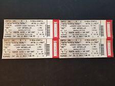 Lot Of 4 Lady Antebellum Wheels Up Tour Full Tickets Arizona July 11 2015 EUC