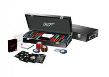 Mallette de 300 jetons poker de luxe James Bond + cartes 007 Luxury set 650260