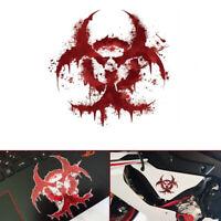 Bloody BIOHAZARD Sticker Decal Vinyl Reflective for Car Motorcycle Bike Laptop
