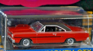 1970 plymouth gtx muscle car 1/64 scale diecast model car new greenlight