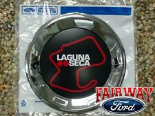 13 thru 14  Mustang Laguna Seca RED OEM Genuine Ford Faux Fuel Gas Cap Emblem