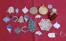 CHRISTMAS CARDMAKING TOPPERS