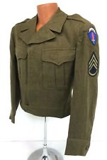 Vintage Us Army Europe Theater Of Operation Enlisted Ike Jacket
