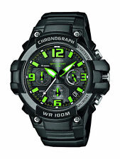 Casio SPORTS CRONOGRAPH STOP watch GREEN Heavy Duty G SHOCK OROLOGIO montre UHR