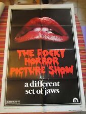 ROCKY HORROR PICTURE SHOW style A 1sh '75 c/u lips image, a different set of jaw